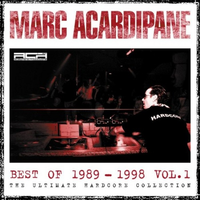 VARIOUS/MARC ACARDIPANE - Marc Acardipane Best Of 1989-1998 Vol 1
