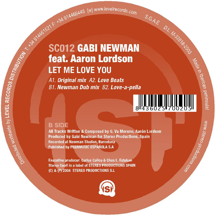 Let Me Love You Mp3 Song Download: Let Me Love You By Gabi Newman Feat Aaron Lordson On MP3
