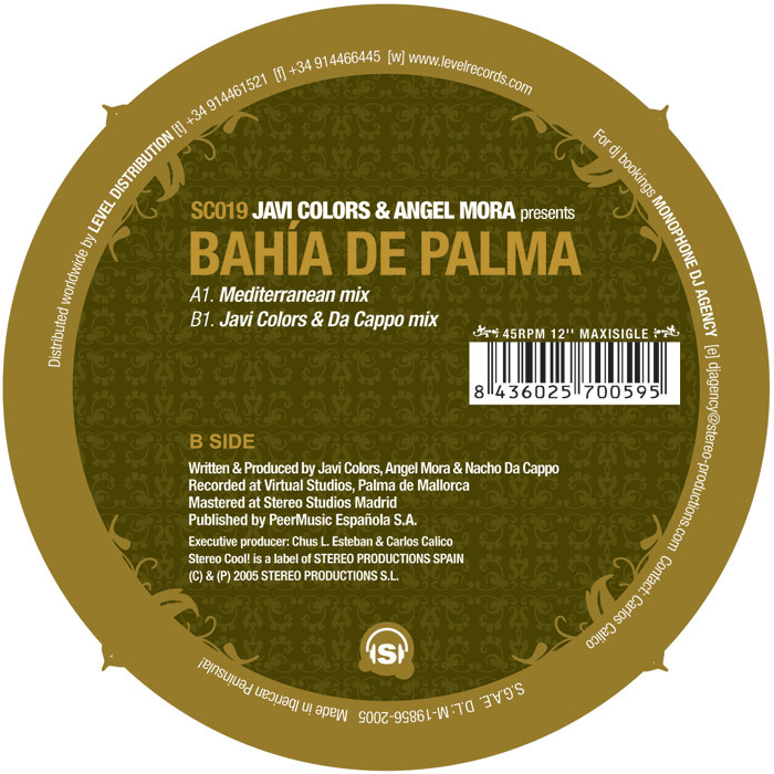 COLORS, Javi & ANGEL MORA - Bahia De Palma