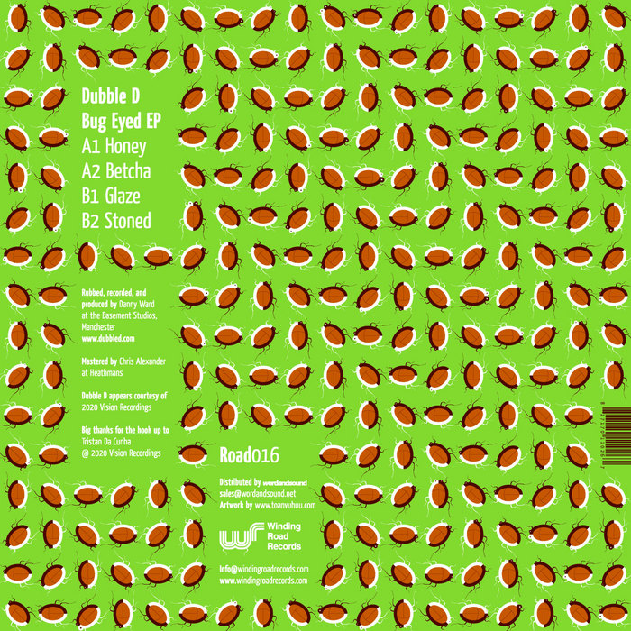 DUBBLE D - Bug Eyed EP