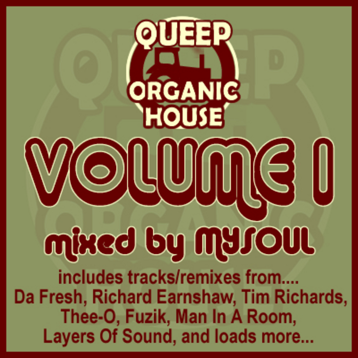 MYSOUL/VARIOUS - Queep Organic House Volume 1