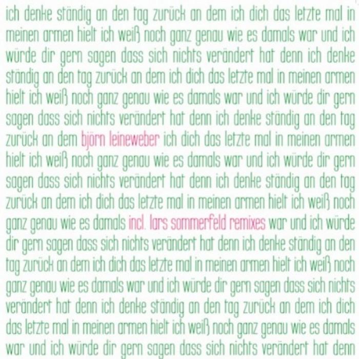 LEINEWEBER, Bjorn - Ich Denke