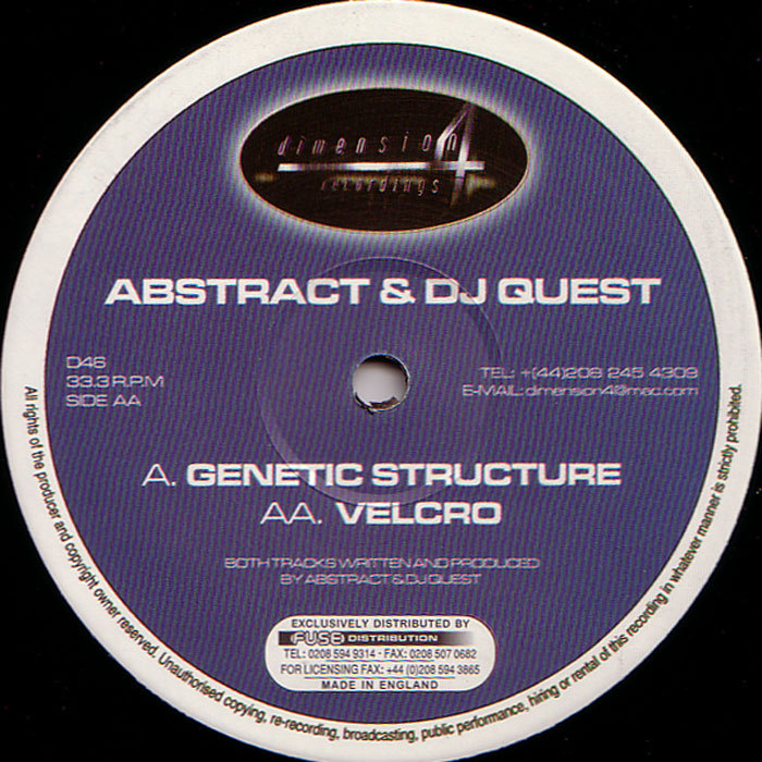 ABSTRACT/DJ QUEST - Genetic Structure