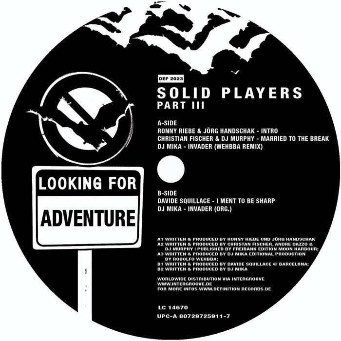 SQUILLACE, David/CHRISTIAN FISHER/DJ MURPHY/DJ MIKA - Solid Players III