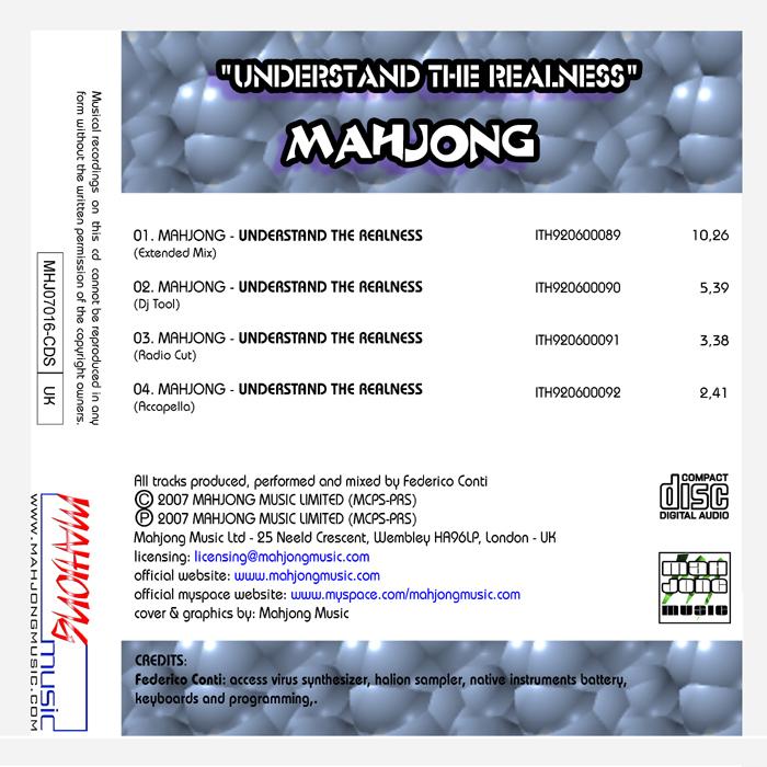 MAHJONG - Understand The Realness