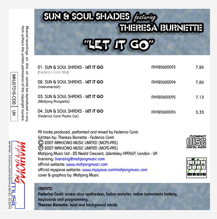 SUN & SOUL SHADES feat THERESA BURNETTE - Let It Go