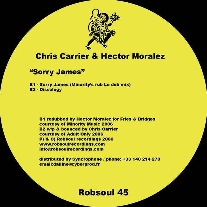 CARRIER, Chris/HECTOR MORALEZ - Sorry James EP