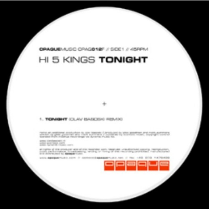 HI5 KINGS - Tonight