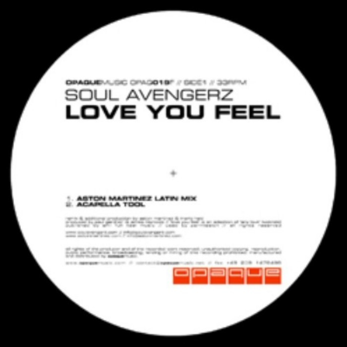 SOUL AVENGERZ - Love You Feel