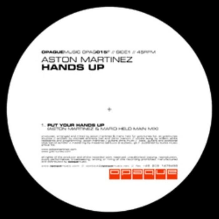 MARTINEZ, Aston - Hands Up