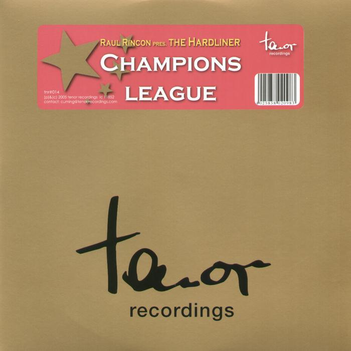 RINCON, Raul presents THE HARDLINER - Champions League