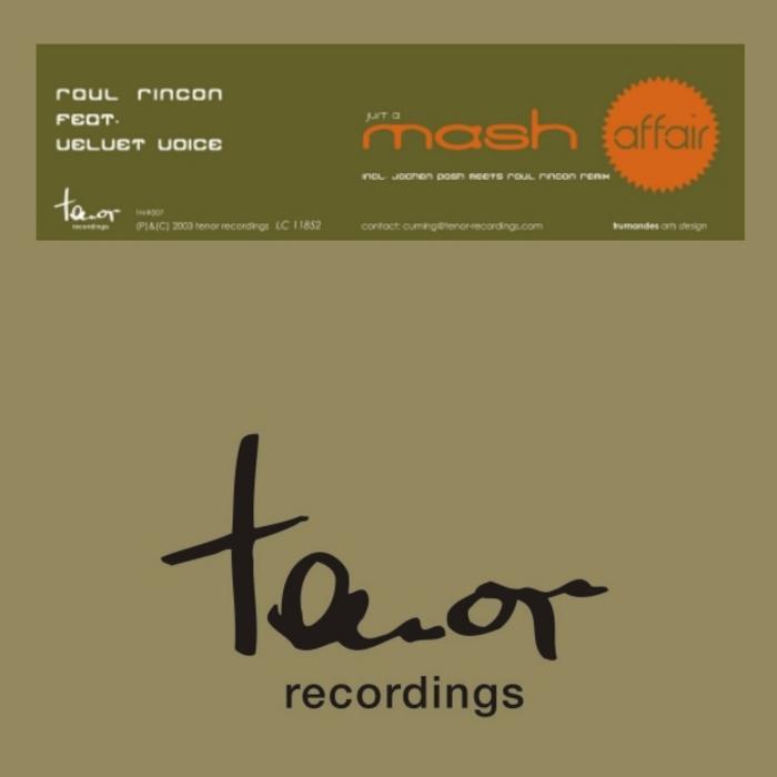 RINCON, Raul feat VELVET VOICE - Just A Mash Affair