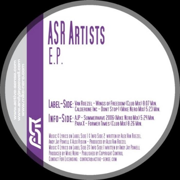 ASR Artists - EP