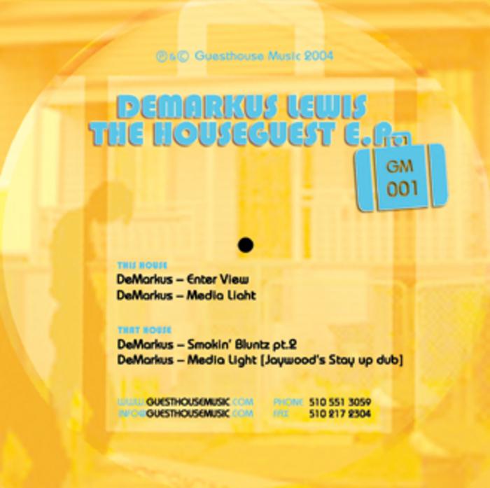 LEWIS, Demarkus - The Houseguest EP