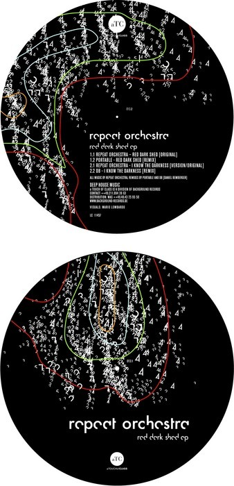 REPEAT ORCHESTRA - Red Dark Shed EP