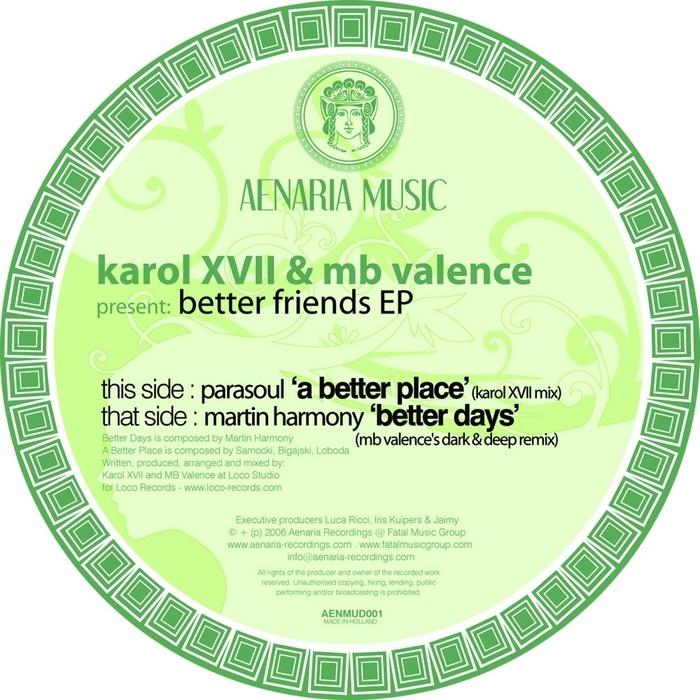 PARASOUL/MARTIN HARMONY - Better Friends EP