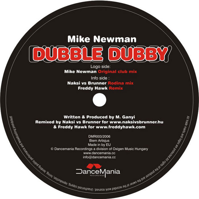 NEWMAN, Mike - Dubble Dubby