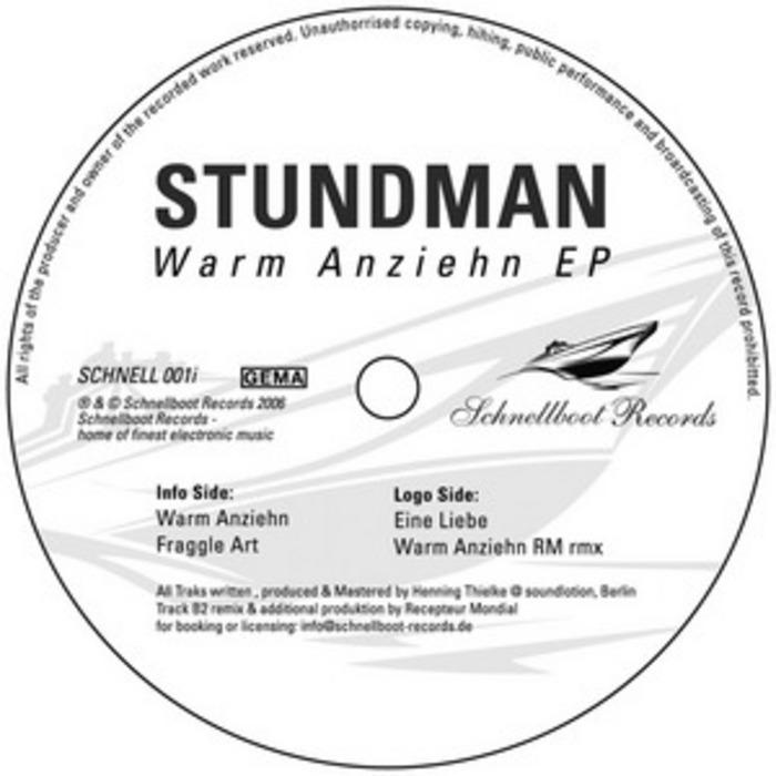 STUNDMAN - Warm Anziehn EP