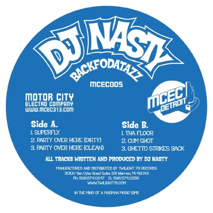 DJ NASTY - Backfodatazz