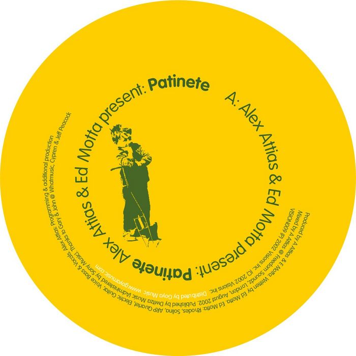 ATTIAS, Alex/ED MOTTA - Patinete