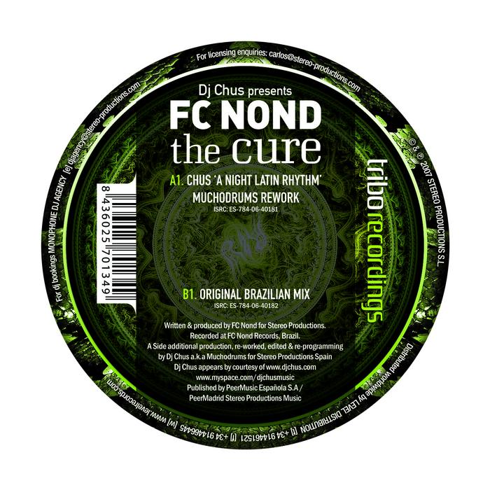 DJ CHUS presents FC NOND - The Cure