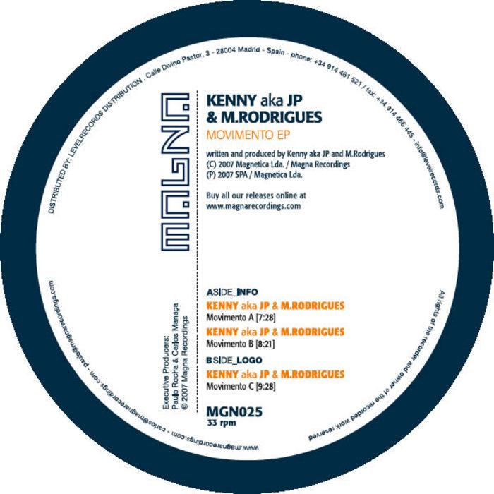 KENNY aka JP & M RODRIGUES - Movimento EP