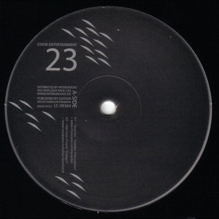 QUANTEC/HARRISON FORD/CHET/KILLAHERTZ - My Music Is My Space