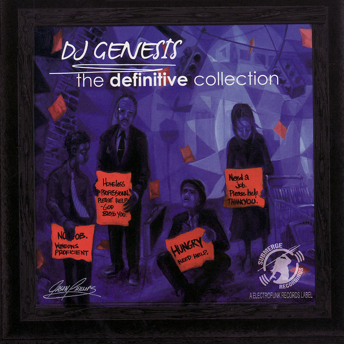 DJ GENESIS - The Definitive Collection