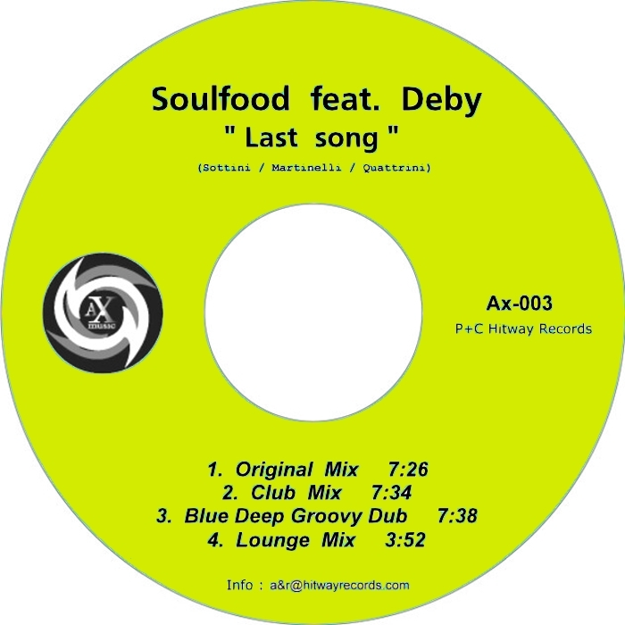 SOULFOOD feat DEBY - Last Song
