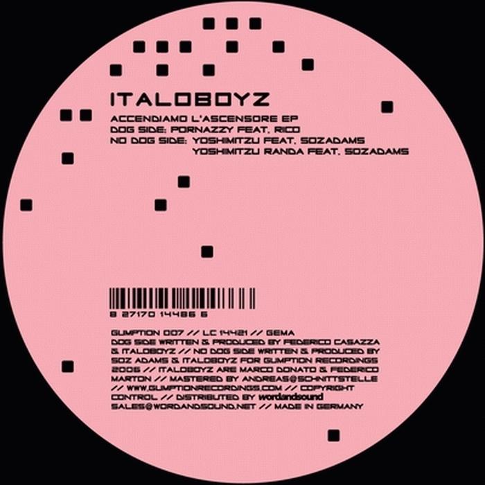 ITALOBOYZ - Accendiamo L'ascensore EP