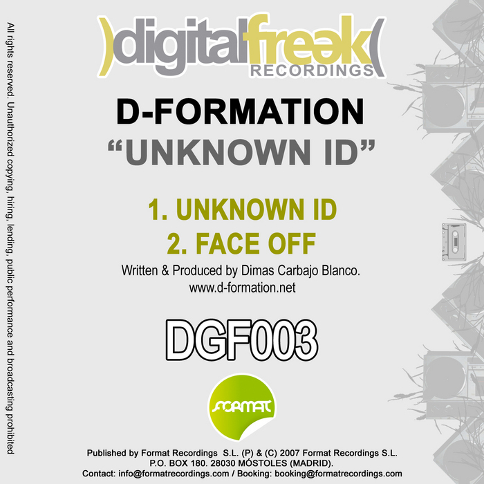 D FORMATION - Unknown ID