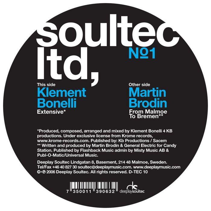 BONELLI, Klement/MARTIN BRODIN - Soultec Limited 1