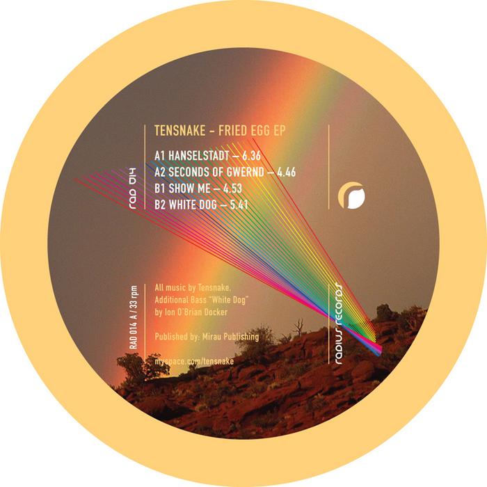 TENSNAKE - Fried Egg EP