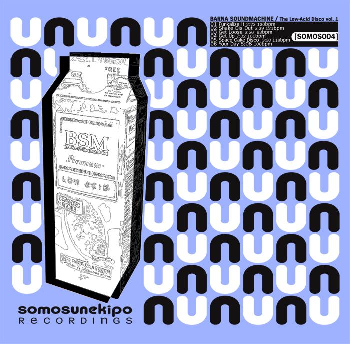 BARNA SOUNDMACHINE - Low-Acid Disco Vol 01