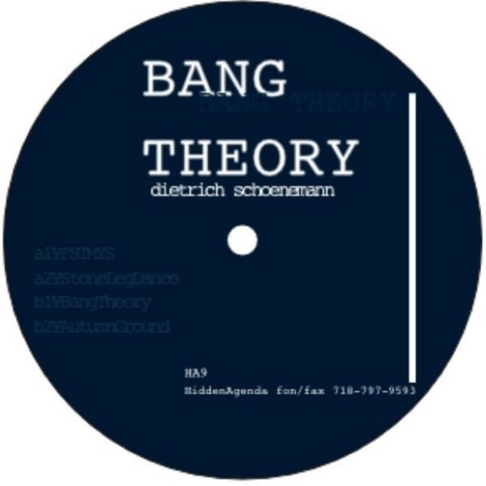 SCHOENEMANN, Dietrich - Bang Theory