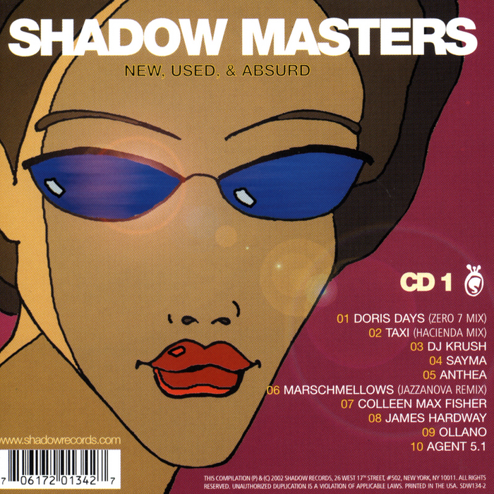 VARIOUS - Shadow Masters: New Used & Absurd