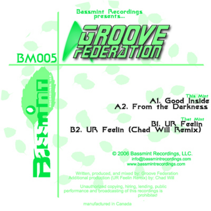 GROOVE FEDERATION - Groove Federation EP