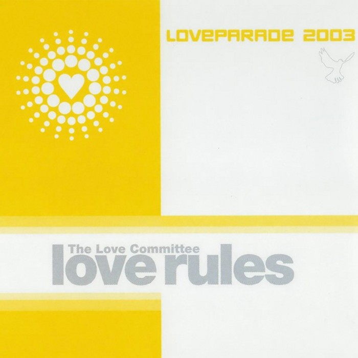 LOVE COMMITTEE, The - Love Rules (Loveparade 2003)