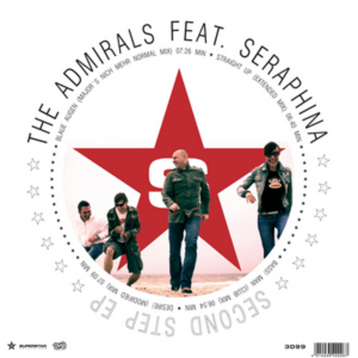ADMIRALS, The feat SERAPHINA - Second Step EP