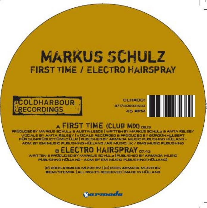 SCHULZ, Markus feat ANITA KELSEY - First Time
