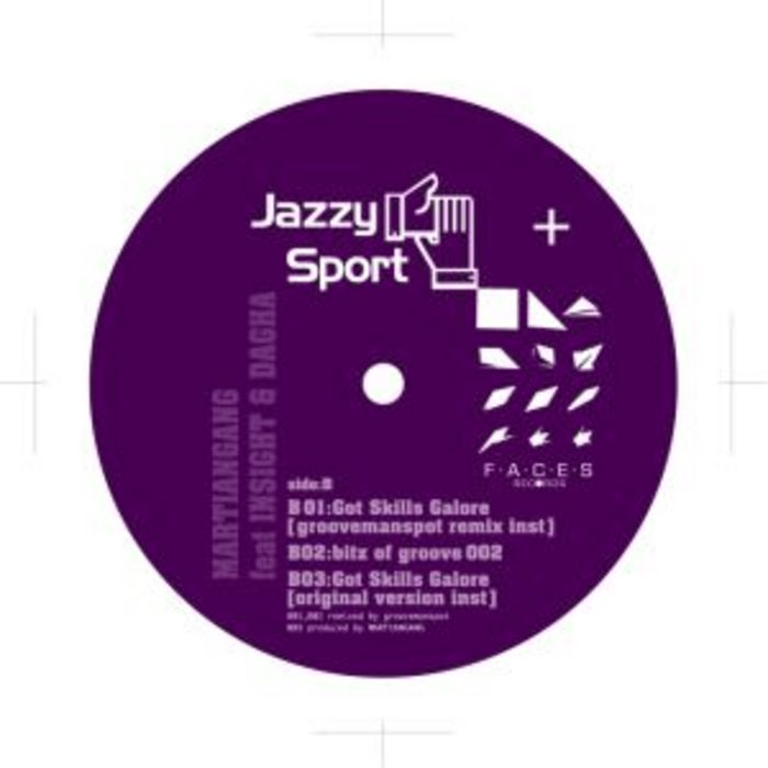 MARTIANGANG feat INSIGHT/DAGAH - Got Skillz Galore (Grooveman Spot remixes)