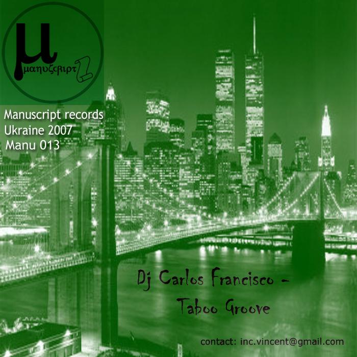 FRANCISCO, Carlos - Taboo Groove