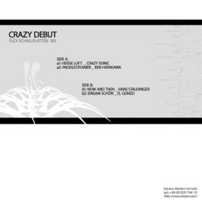 CRAZY SONIC/KEN HAYAKAWA/HANS STAUDINGER/EL GONZO - Crazy Debut EP