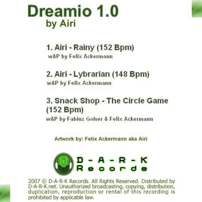AIRI/SNACK SHOP - Dreamio 1.0 EP
