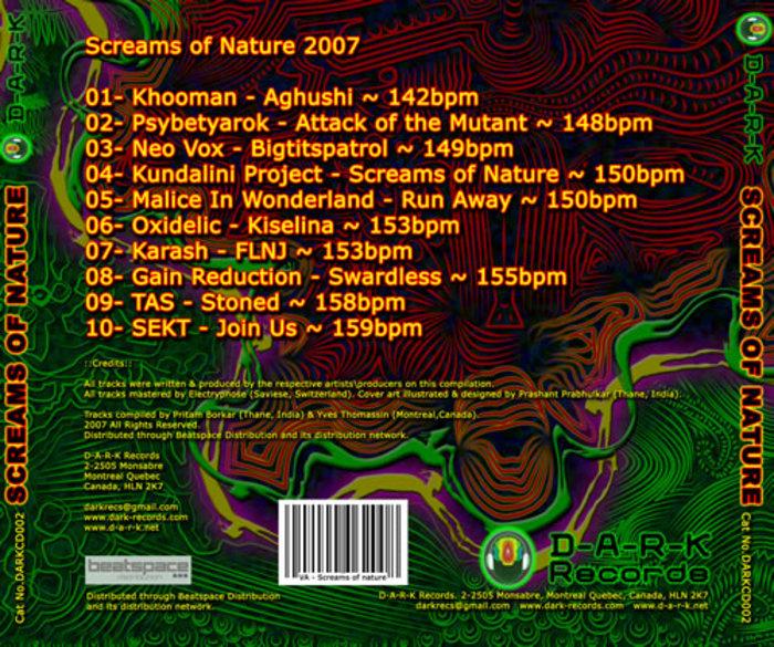 VARIOUS - Screams Of Nature