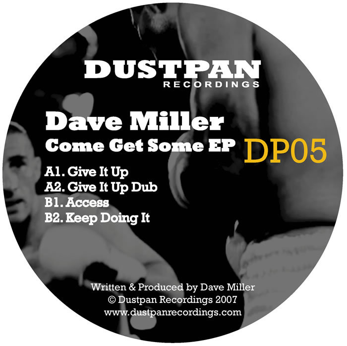 MILLER, Dave - Come Get Some EP