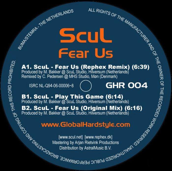 SCUL - Fear Us