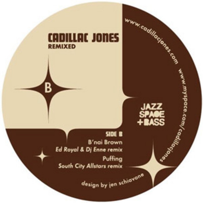 Jones Cadillac: Remixed By Cadillac Jones On MP3, WAV, FLAC, AIFF & ALAC At Juno Download