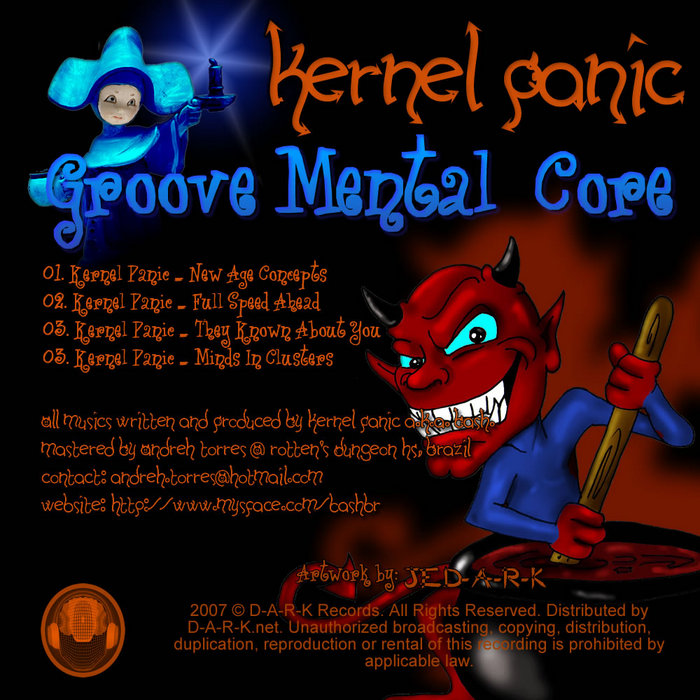 KERNEL PANIC - Groove Mental Core EP