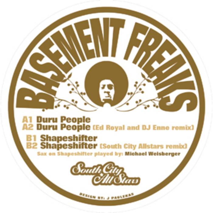 BASEMENT FREAKS - Basement Freaks EP